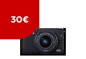 EOS M10+lens